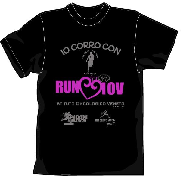 maglia run for iov padova 2019